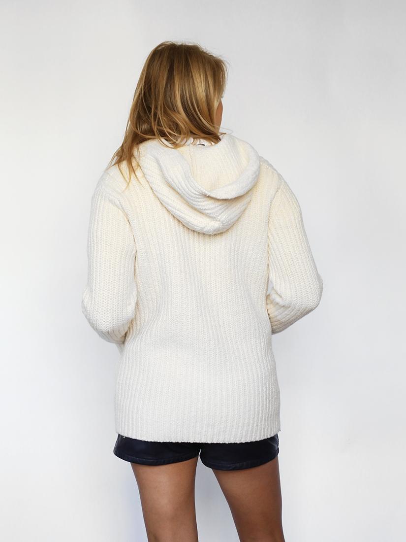 Gros gilet en laine pour femme pas cher
