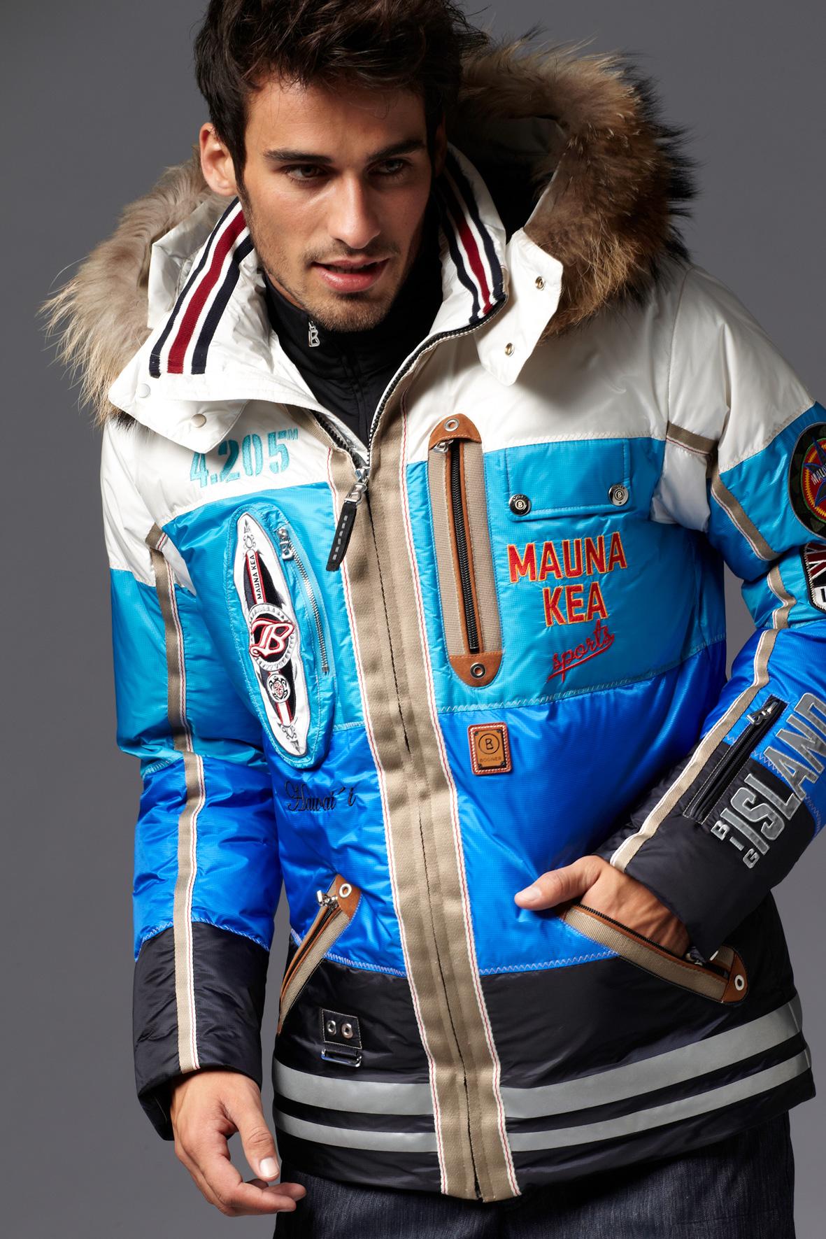 Des habits de ski de marque