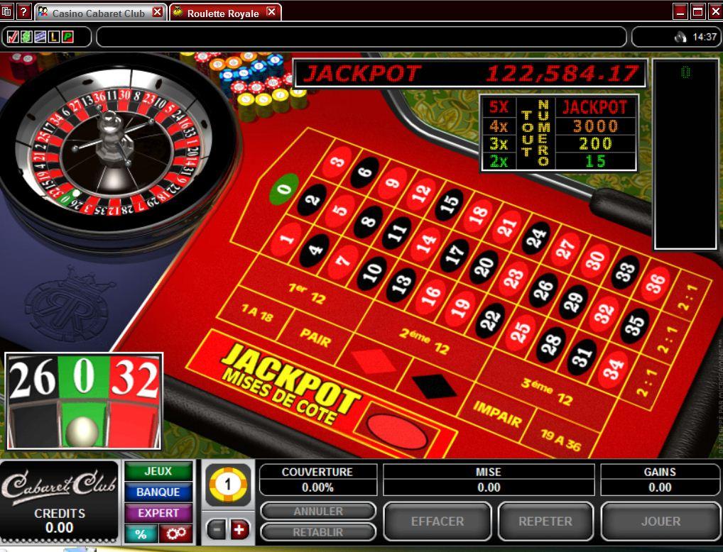 Vraie roulette en ligne