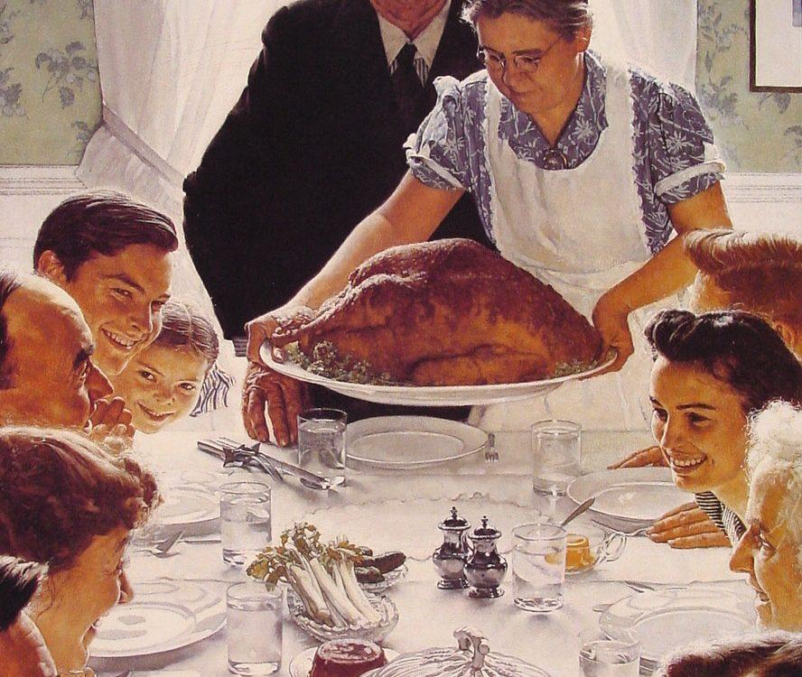 Repas de thanksgiving une tradition qui ne se perd pas - Repas de noel americain ...