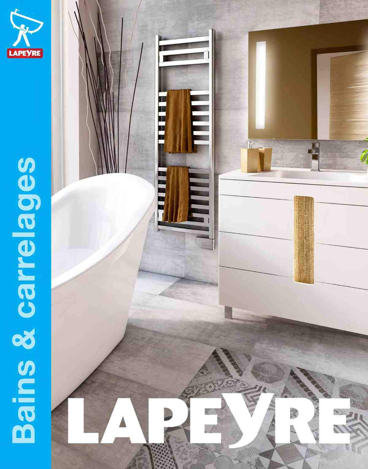 Salle de bain lapeyre catalogue for Catalogue carrelage salle de bain