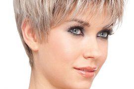 coupe de cheveux femme court dégradé