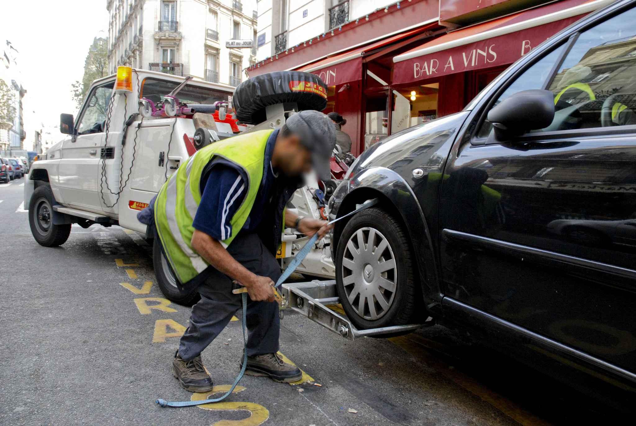 Le réflexe en cas de véhicule gênant
