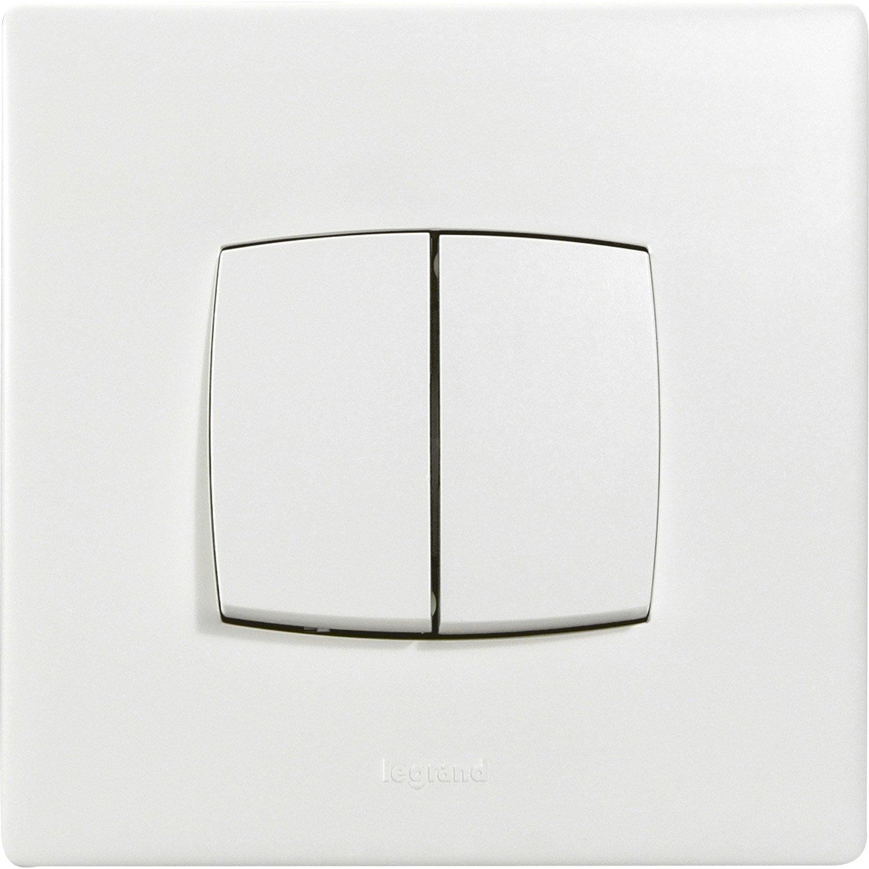 comment brancher un double interrupteur. Black Bedroom Furniture Sets. Home Design Ideas