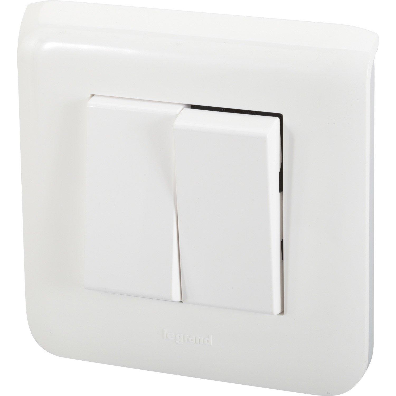 Comment brancher un double interrupteur for Comment changer un interrupteur